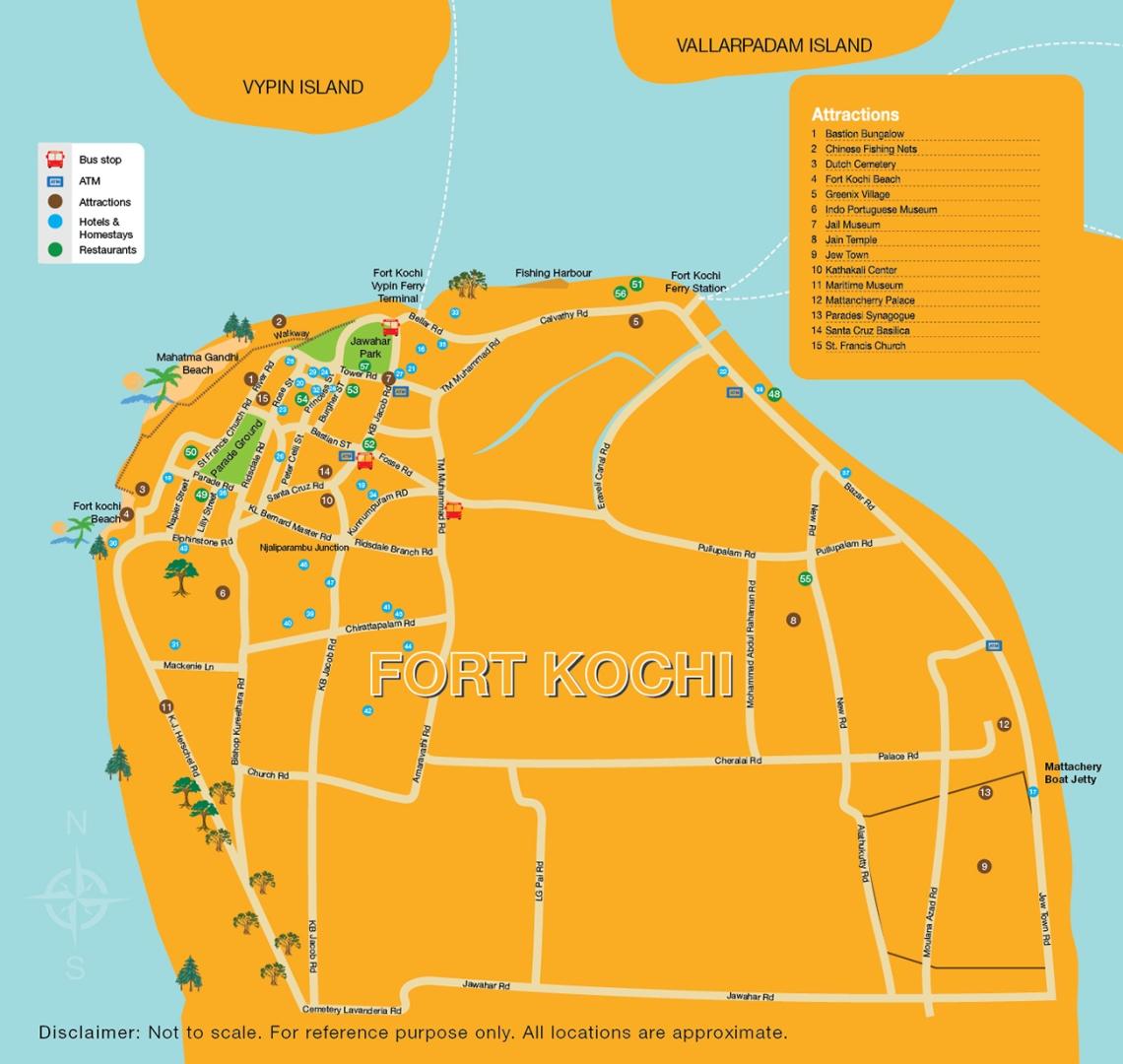 Fort-Kochi-Tourist-Map